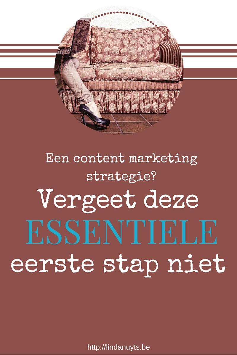 Elke content marketing strategie begint bij jouw doelgroep. Als je deze kan bepalen kan je het fundament leggen.
